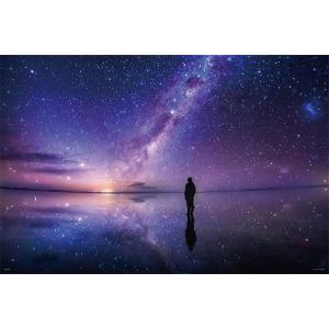 ジグソーパズル 1000ピース  光るパズル KAGAYA 銀河のほとりで/ウユニ塩湖 50x75cm 10-1294|toystadium-jigsaw