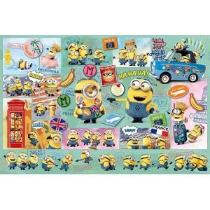 ジグソーパズル ミニオンズ 1000ピース ワールド・パニック 50x75cm 10-1297|toystadium-jigsaw