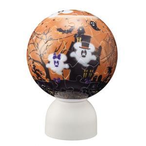 3D球体パズル パズランタン 60ピース ディズニー ハロウィン・ゴースト 2003-460|toystadium-jigsaw
