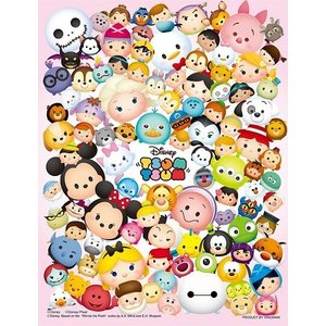 ジグソーパズル ディズニー 300ピース プチ2ライト ツムツム-ぎっしり- 42-29|toystadium-jigsaw