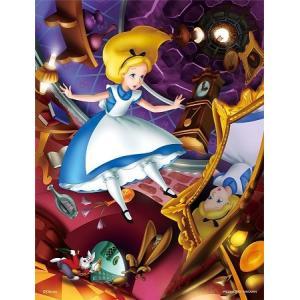 光るジグソーパズル ディズニー 300ピース プチ2ライト ふしぎの国のアリス そこは不思議の国 42-31|toystadium-jigsaw