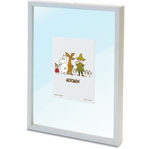 ジグソーパズル用パネル ムーミン専用プリズムアートジグソーパズルフレーム ホワイト 18.2×25.7cm 1‐ボ|toystadium-jigsaw