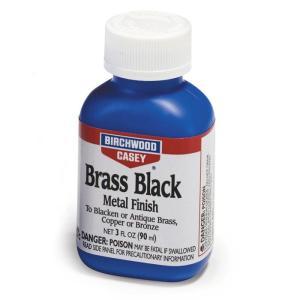 バーチウッド ブラスブラック メタルフィニッシュ 真鍮用ガンブルー液 90ml|toystadiumookawaya