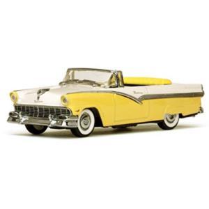 1/43 フォード フェアレーン オープン コンバーチブル 1956 ゴールデングローイエロー/コロニアルホワイト 国際貿易|toystadiumookawaya
