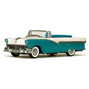 1/43 フォード フェアレーン オープン コンバーチブル 1956 ピーコックブルー/コロニアルホワイト 国際貿易|toystadiumookawaya