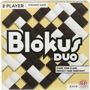 世界中の玩具祭を席巻したテリトリー戦略ゲームブロックスの2人対戦版ブロックスデュオ! ピースが黒と白...