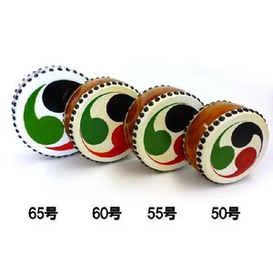 国産手作り本格皮和太鼓 巴 60号 日本製 バチ2本付き|toystadiumookawaya|04