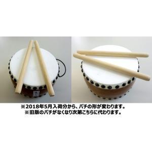 国産手作り本格皮和太鼓 巴 60号 日本製 バチ2本付き|toystadiumookawaya|05