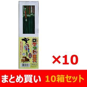 【まとめ買い】 ロケット花火 鳥獣退散 春雷 (100本入)×10箱セット