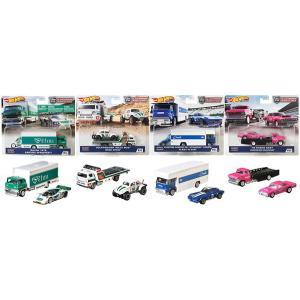 【11月発売予定】 完成品ミニカー ホットウィール チームトランスポート 4台BOXセット FLF5...