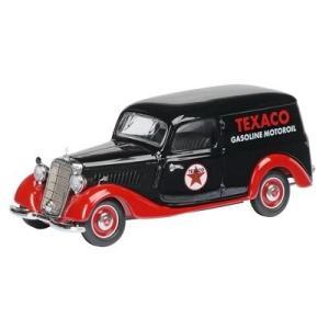 シュコー Schuco 1/43 メルセデス・ベンツ 170V 「TEXACO」 ブラック/レッド 02269|toystadiumookawaya