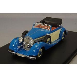 NEO ミニカー 1/43 メルセデスベンツ 540KタイプA コンバーチブル 1936 ブルー NEO46166 送料無料|toystadiumookawaya
