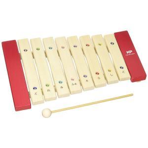 木の知育楽器 Kids Percussion キッズパーカッション マイパーフェクトサイロフォン 出産祝い ギフト|toystadiumookawaya