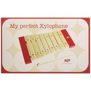 木の知育楽器 Kids Percussion キッズパーカッション マイパーフェクトサイロフォン 出産祝い ギフト|toystadiumookawaya|02