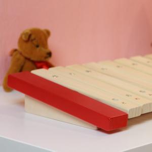 木の知育楽器 Kids Percussion キッズパーカッション マイパーフェクトサイロフォン 出産祝い ギフト|toystadiumookawaya|04
