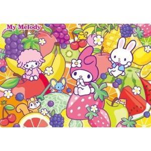 チャイルドパズル 60ピース マイメロディのフルーツパーティー MC-60-954|toystadiumookawaya
