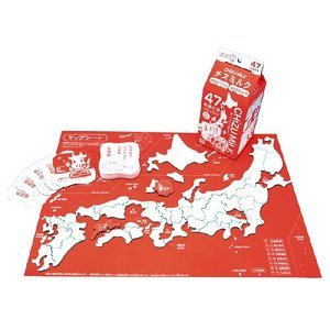日本地図パズルゲーム チズミルク  遊べばミルミル覚える!47都道府県パズル&カルタ パズルだけでな...