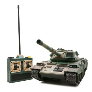 完成品ラジコン BB弾発射&リコイルギミック搭載 バトルタン...