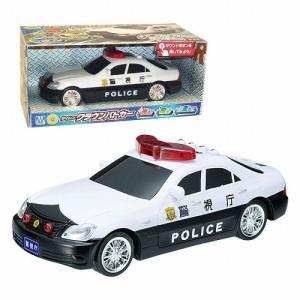 ボディ側面と後部に「警視庁」のシール以外に「POLICE」のシールが加えられ、よりいっそうリアルなパ...