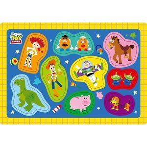 ベビーパズル 子供向けパズル 9ピース トイ・ストーリー おもちゃ だいすき DC-09-133|toystadiumookawaya