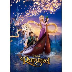 「塔の上のラプンツェル」を象徴する映画ポスター柄が、キラキラ輝くホログラムの500ピースで登場! 絵...