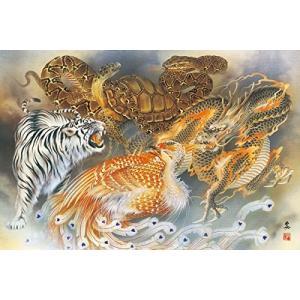 ジグソーパズル 1000ピース 日本画 風水画 吉祥四神図 1000-764