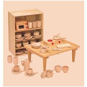 抗菌 ままごとあそび テーブルセット 8011-5 日本製 国産 河合楽器製作所|toystadiumookawaya