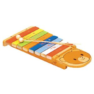 KAWAI シロホンクマ 9016-9 日本製 国産 河合楽器製作所|toystadiumookawaya
