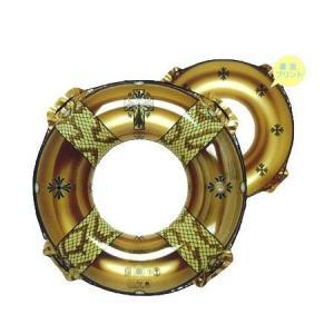 【数量限定大特価】 浮き輪 パイソンウキワ ゴールド 90cm RLN-490 toystadiumookawaya