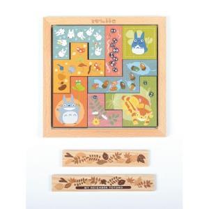 木のタイルパズル となりのトトロの関連商品3
