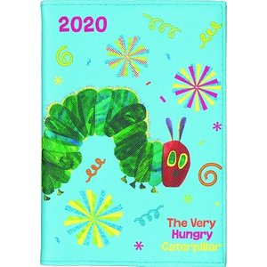 2019年で50周年となる絵本「はらぺこあおむし」の2020年版のスケジュール帳です。 布地にフルカ...