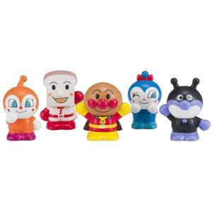 アンパンマン アンパンマンにこにこ指人形 5体セット|toystadiumookawaya