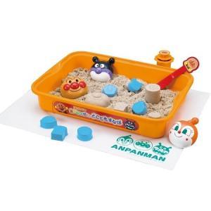 室内で砂遊びが出来る容器が付いた砂遊びのセットです。  フタ付きなのでお片付けラクラク。砂の保管にも...