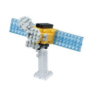 ナノブロック nanoblock NBC_199 太陽観測衛星 クロネコDM便(メール便)送料無料 toystadiumookawaya
