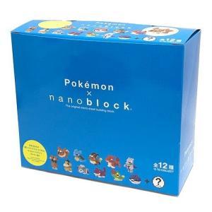 nanoblock ナノブロック ミニポケットモンスターシリーズ02  NBMPM_02S BOX(12個入り) 全12種類 toystadiumookawaya