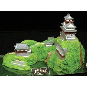 日本の名城 スタンダード版 岐阜城 プラモデル 童友社