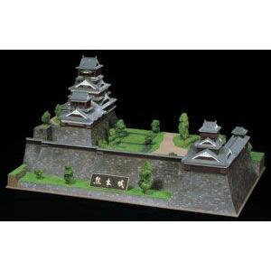 日本の名城 デラックス 熊本城 プラモデル 童友社