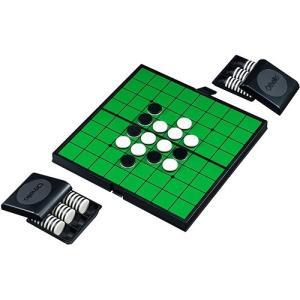 マグネットオセロ  強力なマグネット式の石を使用していますので、盤が傾いても石が動きません。盤は折り...