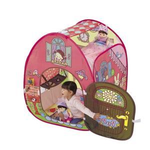 ぽぽちゃん ピンポーン♪ & おしゃべりつき 2階だてぽぽちゃん家|toystadiumookawaya