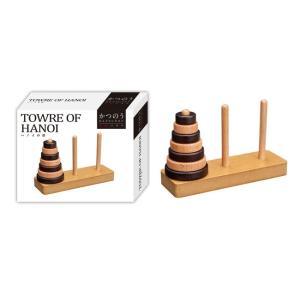 活脳パズル かつのう ハノイの塔 「鍛脳(たんのう)」シリーズ|toystadiumookawaya