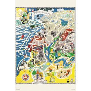 ジグソーパズル 1000ピース ムーミン マップ オブ ムーミンバレー 50x75cm 10-1291 送料無料|toystadiumookawaya