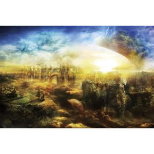 ジグソーパズル 1000ピース 光るパズル 齋藤亮太 希望への道 50x75cm 10-1356 送料無料|toystadiumookawaya