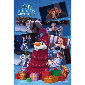 ジグソーパズル 99ピース プチライト アナと雪の女王 オラフの冒険 10×14.7cm 99-432 定形外郵便送料無料|toystadiumookawaya
