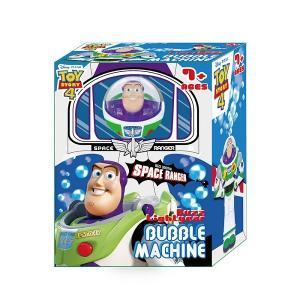 トイストーリーの人気キャラクターバズがカッコいいバブルマシーンに!! 頭の上から自動でシャボン玉がで...