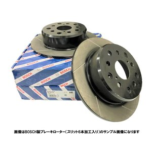 ブレーキローター   スイフト フロントスリット6本加工ブレーキローター BOSCH ボッシュ製 品...