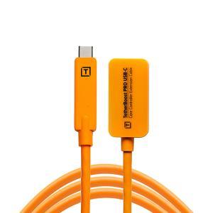 TetherTools(テザーツールス)USB-C 延長ケーブル 500cm オレンジ TBPRO3-ORG|tpc