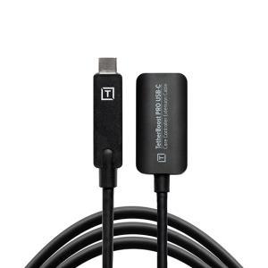 TetherTools(テザーツールス)USB-C 延長ケーブル 500cm ブラック TBPRO3-BLK|tpc