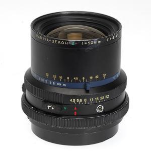 中古品 MAMIYA RZ 50mm F4.5W(RZ67用レンズ) tpc
