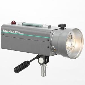中古品 コメットバッテリーモノブロックストロボ BM-400 tpc