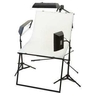 蛍光灯ボックスライト3灯撮影セット スタンド仕様|tpc